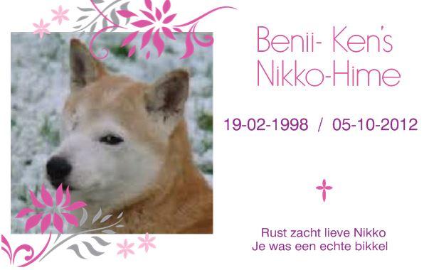 Benii Ken's Nikko-Hime